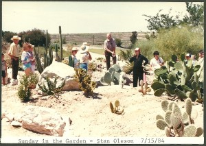 1984 Tour of the new Cactus Garden