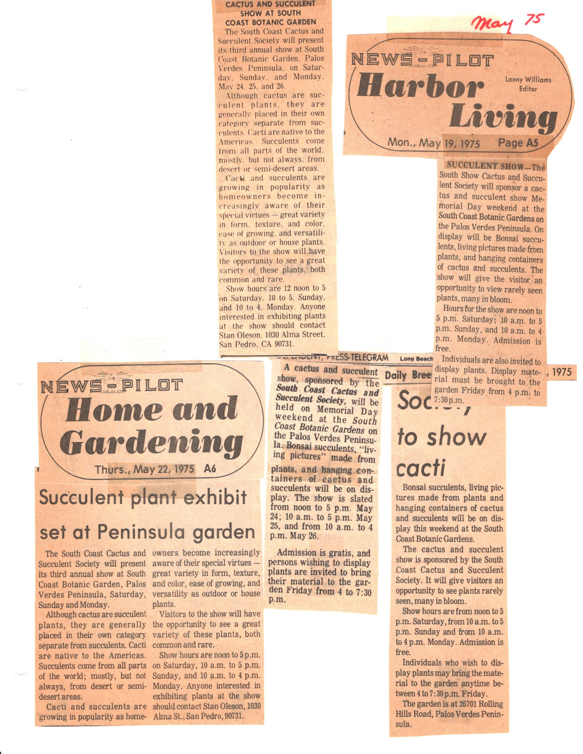 SCCSS-Cuttings-1975-05-19
