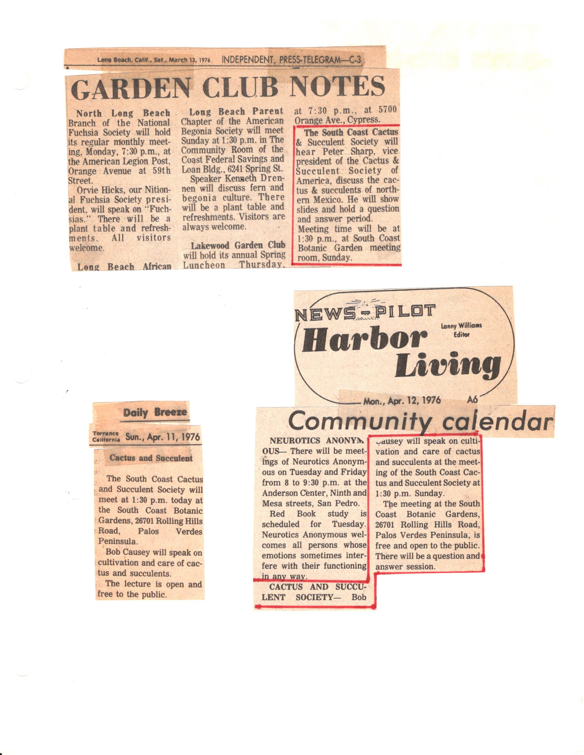 SCCSS-Cuttings-1976-03-13