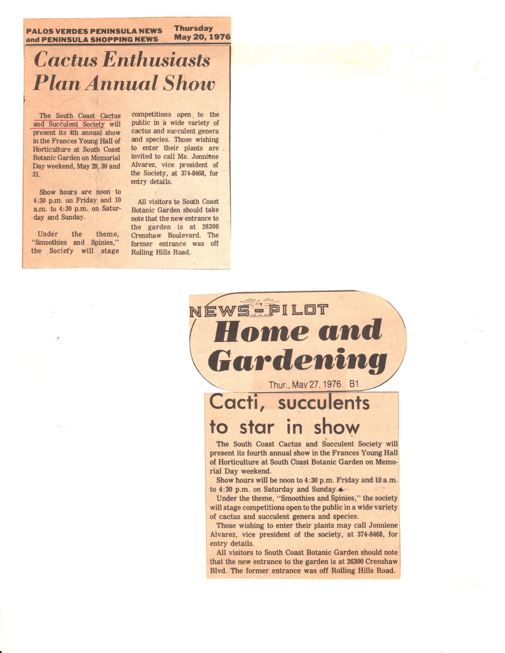 SCCSS-Cuttings-1976-05-20