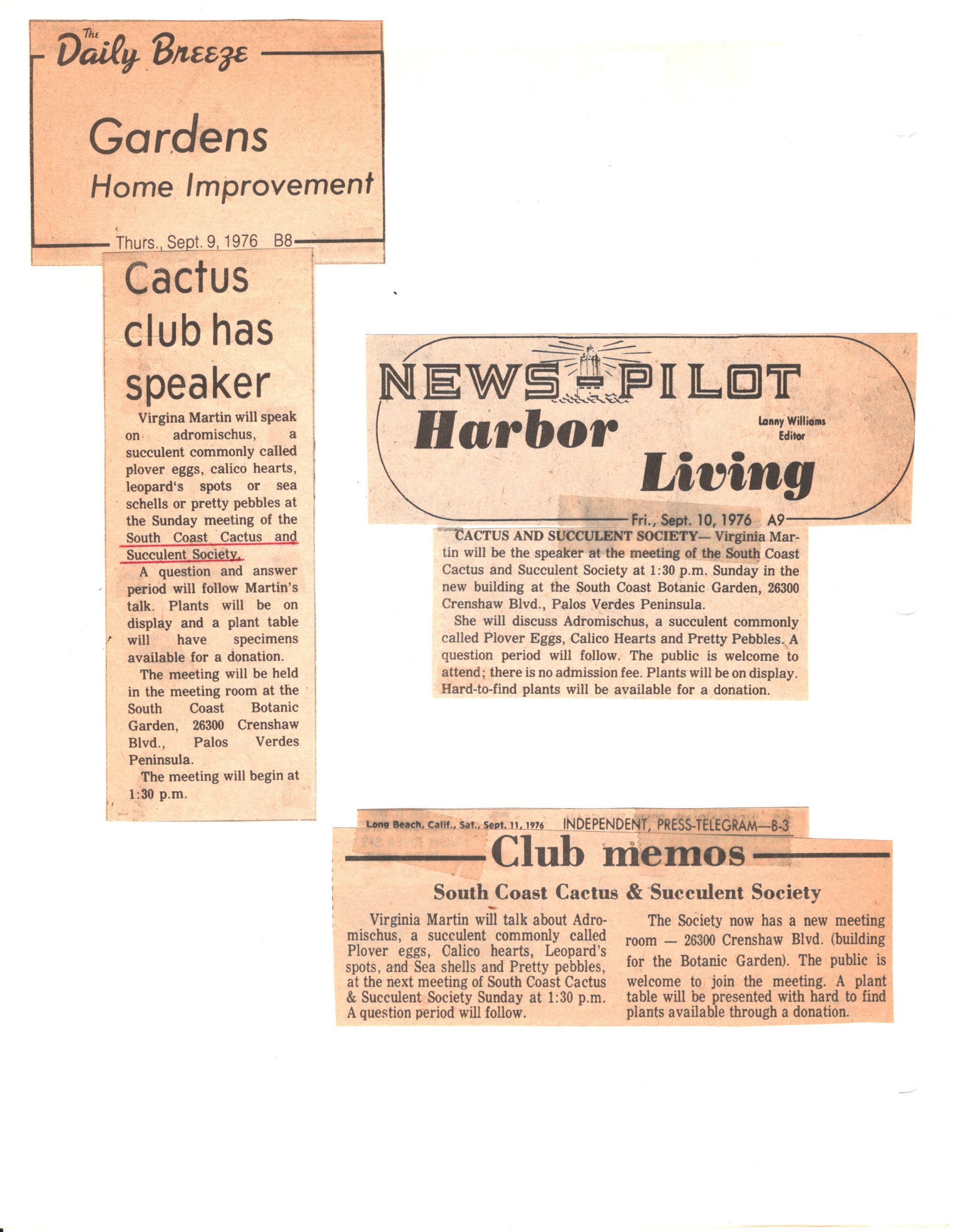SCCSS-Cuttings-1976-09-09