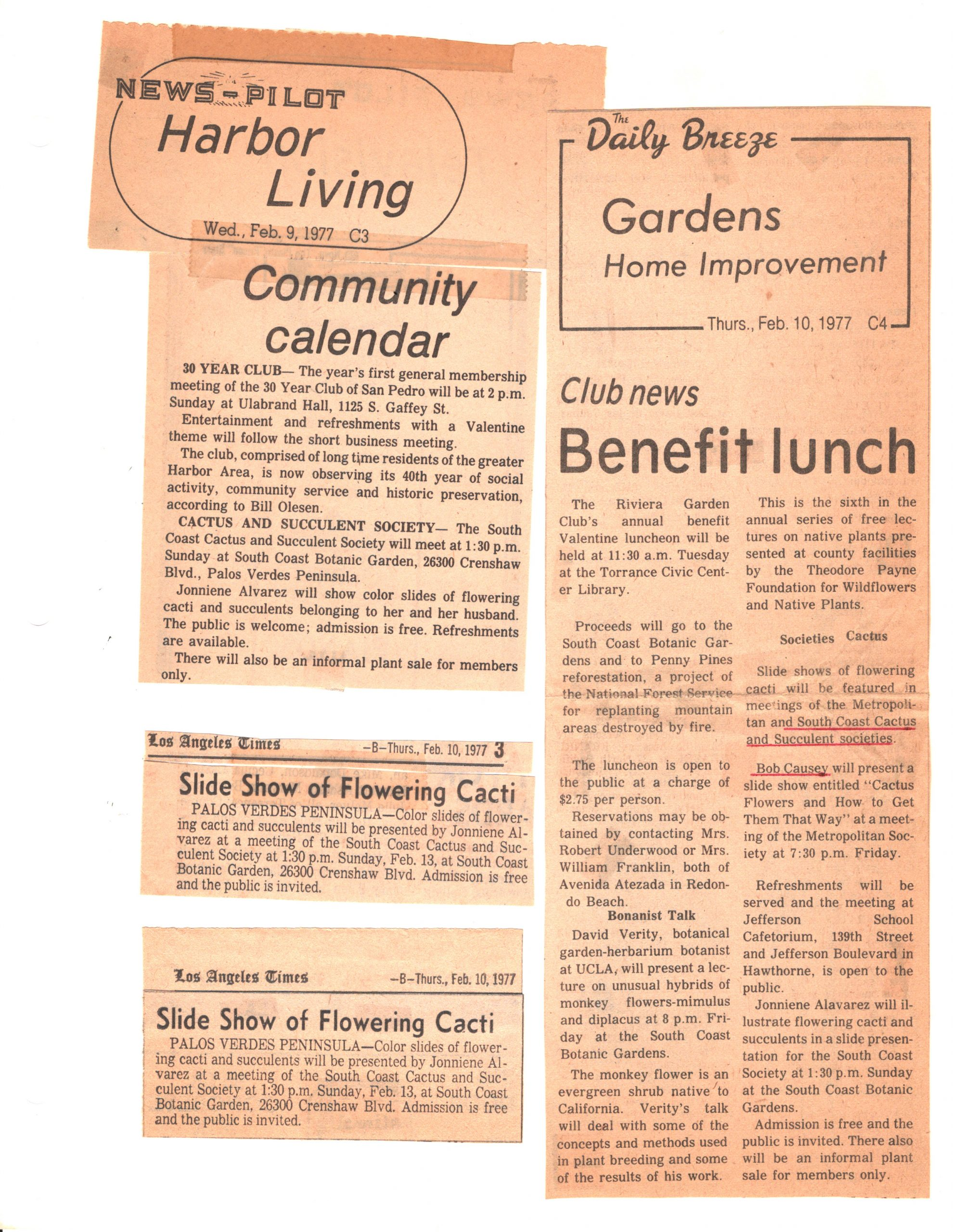 SCCSS-Cuttings-1977-02-09