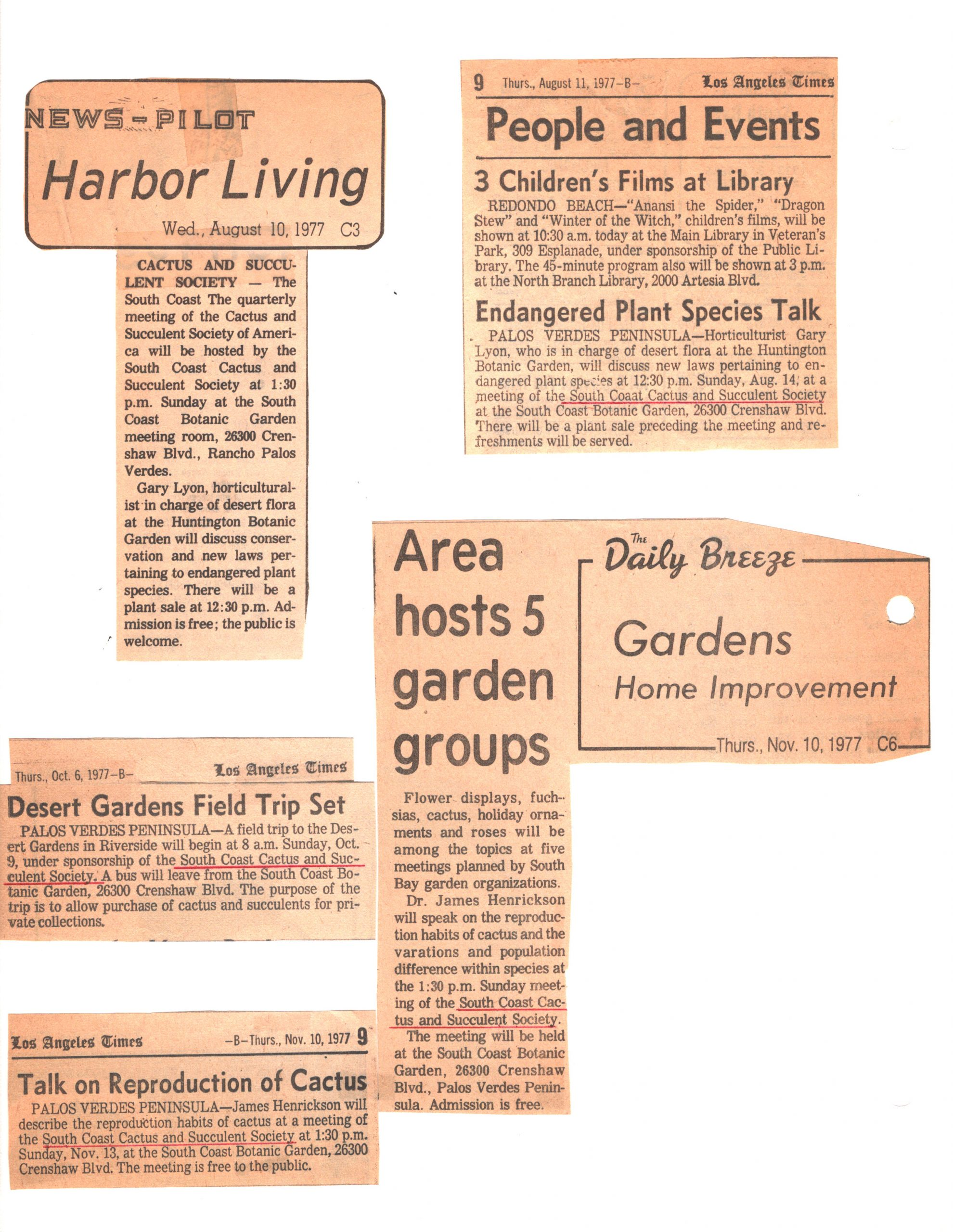 SCCSS-Cuttings-1977-08-10