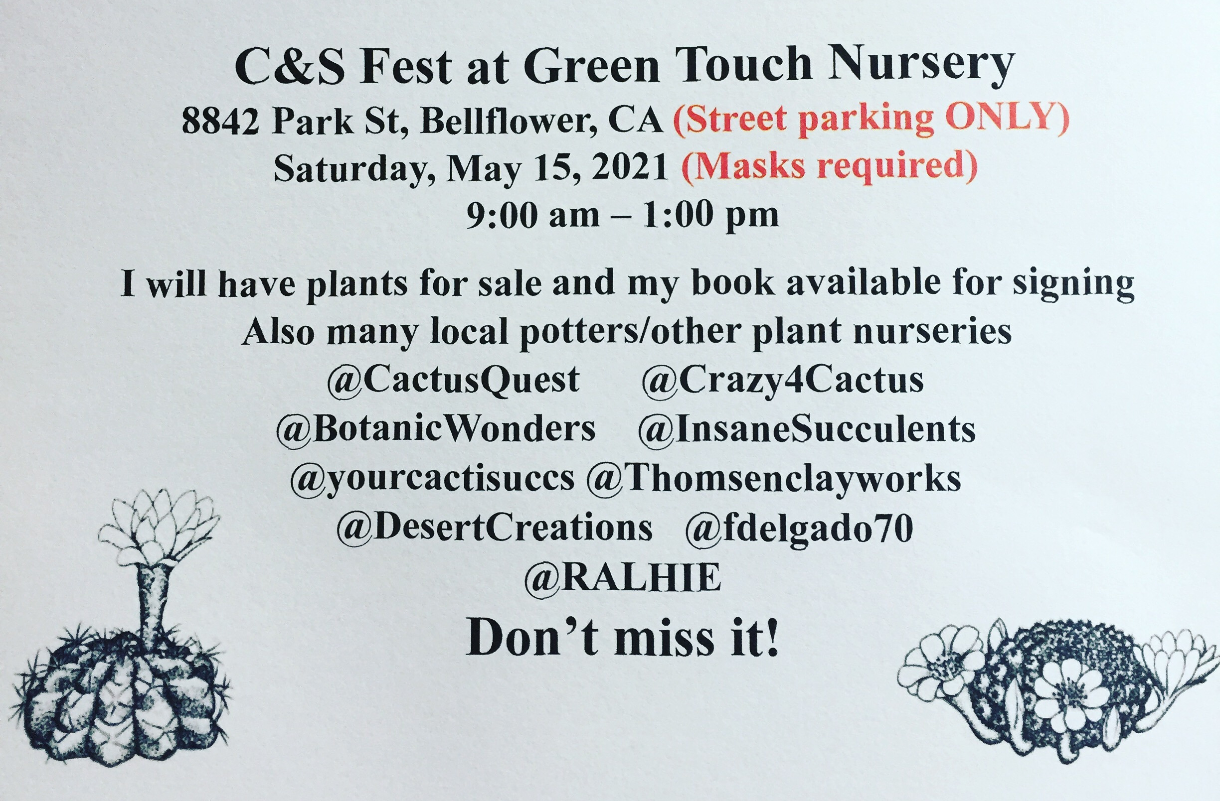C&S Fest at Green Touch Nursery